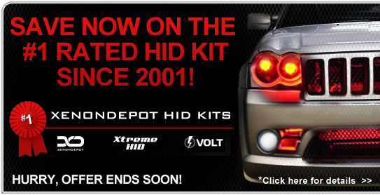Save on the #1 rated HID kit since 2001!