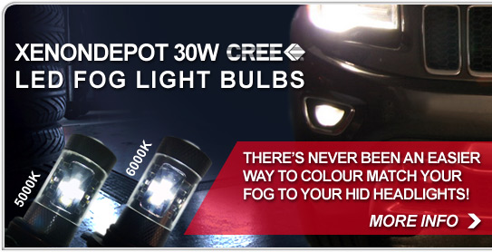 Xenondepot 30W CREE LED Fog Light Bulbs. - Shop Now