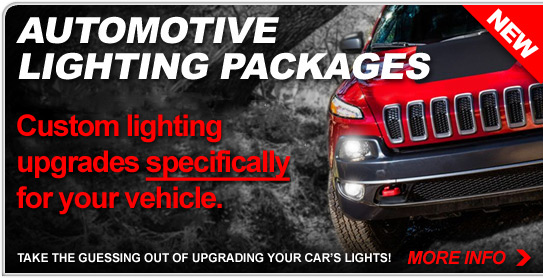 Automotive Lighting Packages - Shop Now