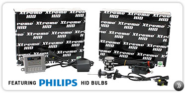 Motorcycle HID Conversion Kits With Philips HID Bulbs 